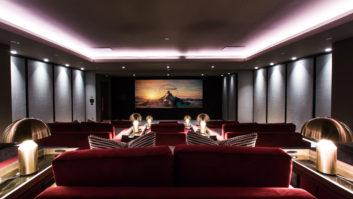 Snap AV - London- Theater Screen