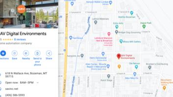 SAV - Google My Business