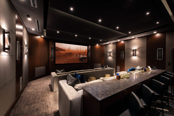 KEF THX Theater – Right Angle